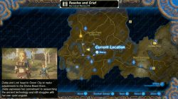 recovered memory 3 map location zelda breath of the wild