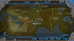 spicy pepper map location zelda botw