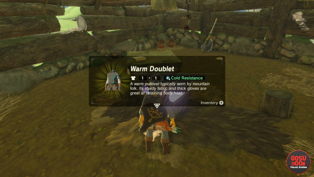 Zelda botw protection from cold and old mans warm doublet recipe how to get warm doublet and other cold resistance armor in zelda forumfinder Image collections