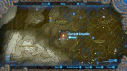 where to find secret mount zelda botw