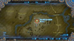zelda botw lord of the mountain location