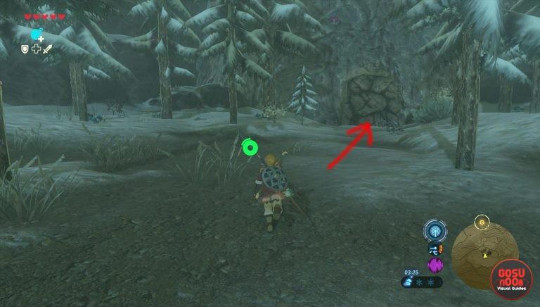 Kletterausrüstung Zelda Breath Of The Wild : Zelda: breath of the wild u2013 fundort der kletterrüstung climbing