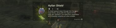zelda breath of the wild hylian shield location