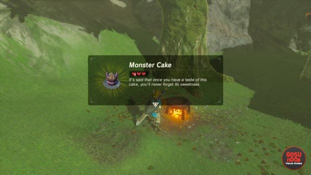 zelda breath of the wild hyrule castle recipe locations