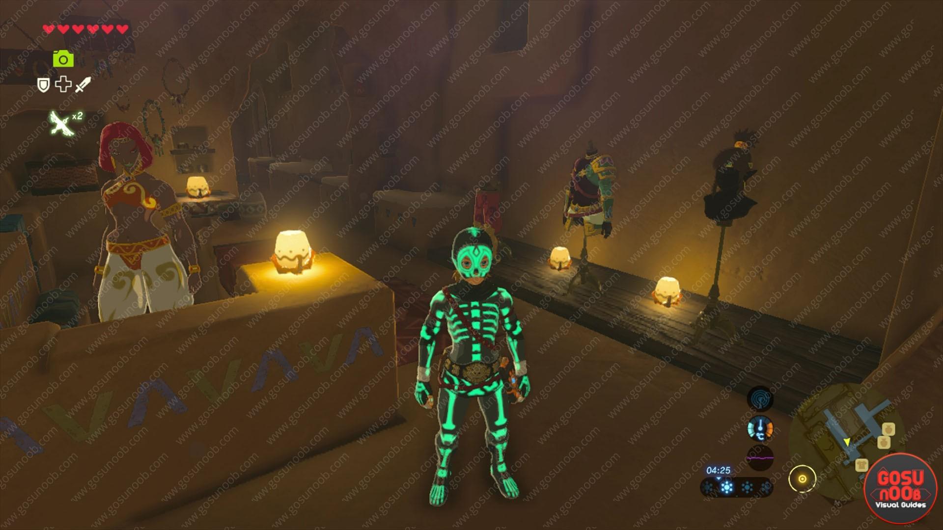 Zelda BoTW Secret Club Secret Quest - How to get Gerudo