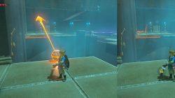 Jee Noh Shrine Ball Challenge Zelda BotW