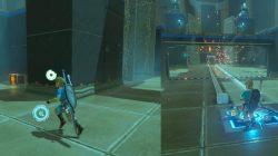 Opening the Gate Kaam Ya'tak Shrine Zelda BotW