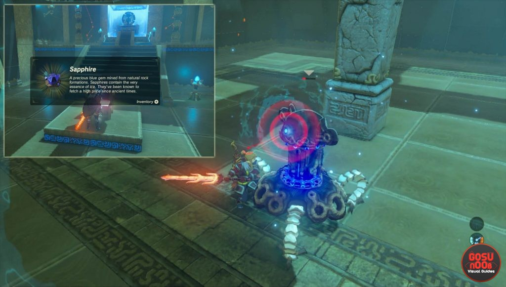 Treasure Chest Ke'nai Shakah Shrine Zelda BotW