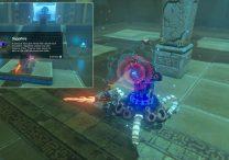 Treasure Chest Ke'nai Shakah Shrine Zelda BotW