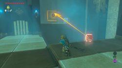 Zelda BotW Dunba Taag Shrine How to Hit Switch