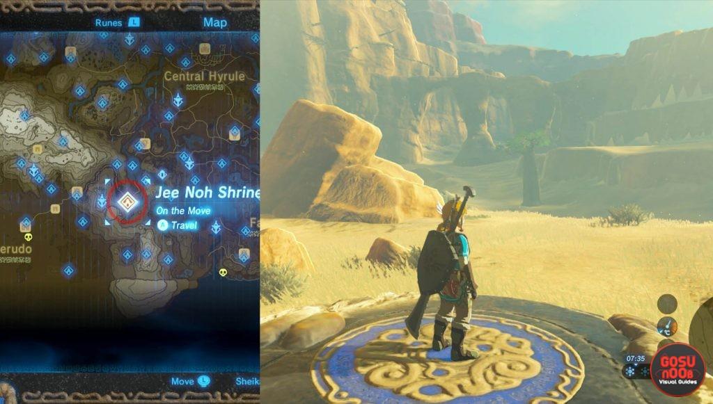 Zelda BotW Jee Noh Shrine Walkthrough