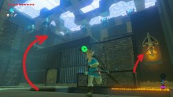 Zelda BotW Rota Ooh Shrine Rotate the Gate
