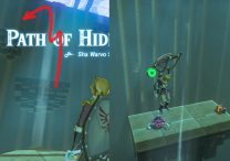 Zelda BotW Sha Warvo Shrine Path of Hidden Winds