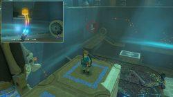 Zelda BotW Shada Naw Shrine Treasure Chest