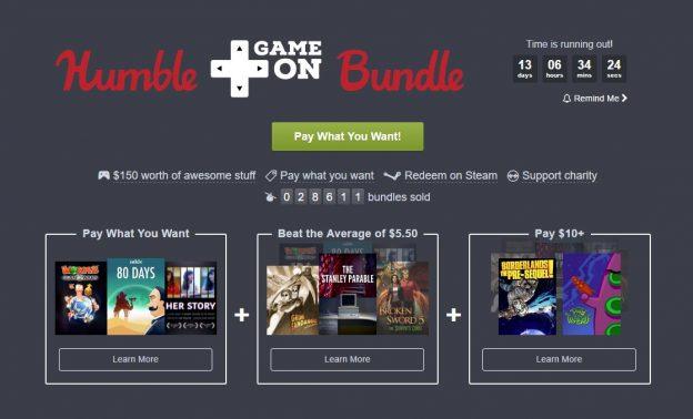 Humble Game On Bundle Offers Stanley Parable, Grim Fandango & More