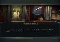 prey how to unlock preorder bonus items