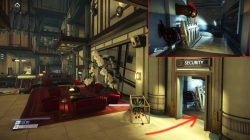 prey security station main lobby secret entrance