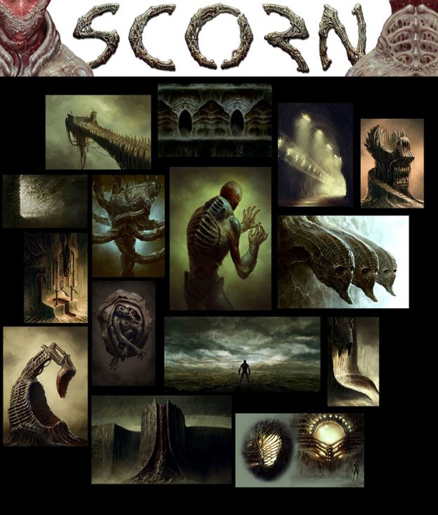 scorn concept art