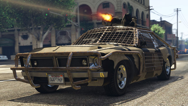 GTA V Update 1.40 Patch Notes Show Weaponized Vehicles