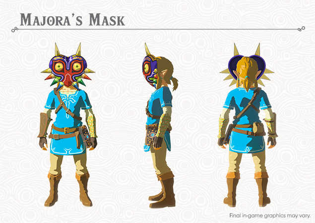 zelda botw majora's mask location