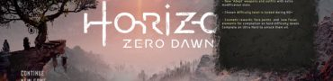 Horizon Zero Dawn How To Start New Game Plus Guide