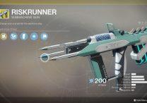 destiny 2 riskrunner exotic submachine gun location