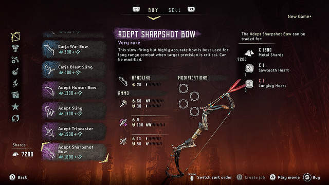 horizon zero dawn where to find new armor weapons