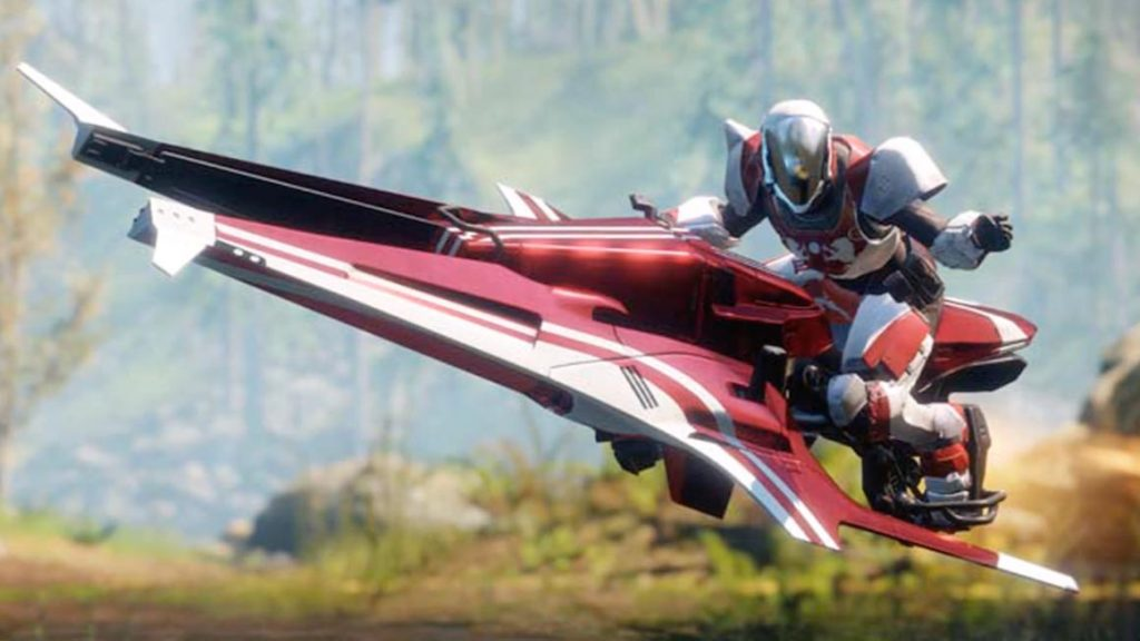Destiny 2 Athena Victorious Exclusive Sparrow Virgin Fibre Promo Leaked