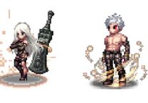 Final Fantasy Brave Exvius Holding Nier Automata Event