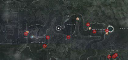 Destiny 2 EDZ Lost Sectors Map Location