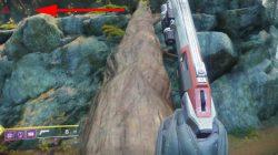 Destiny 2 EDZ Winding Cove Hidden Region Chest Location