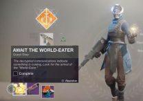 destiny 2 await the world eater