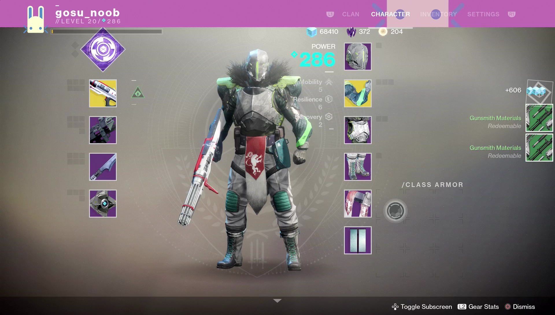 Best Striker Titan Build For Trials