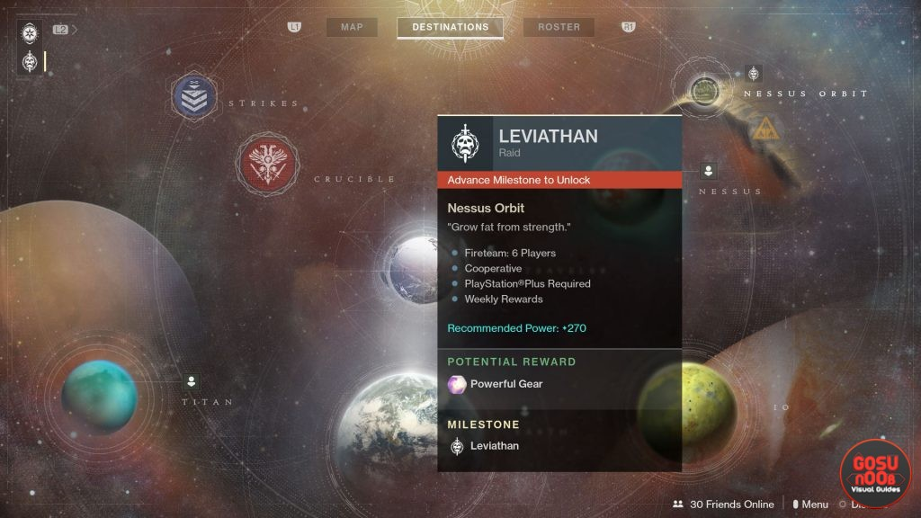 destiny 2 leviathan raid potential reward