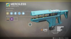 destiny 2 merciless fusion rifle