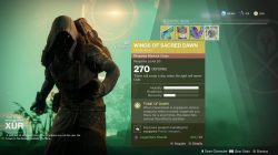 destiny 2 xur wings of sacred dawn