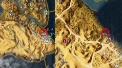 AC Origins Dead End Riddle Solution Loot Spot