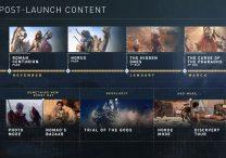 AC Origins Season Pass & Post-Launch Content Revealed