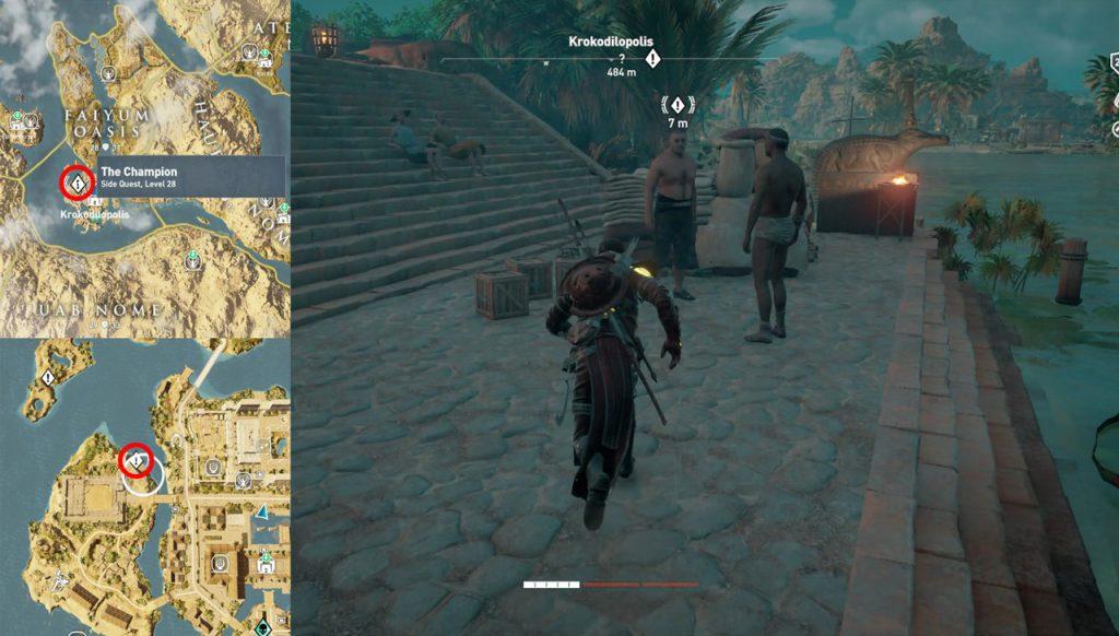 Forge Of Empires Karte Komplettlösung.Assassin S Creed Origins So Schalten Sie Die Gladiatoren Arena