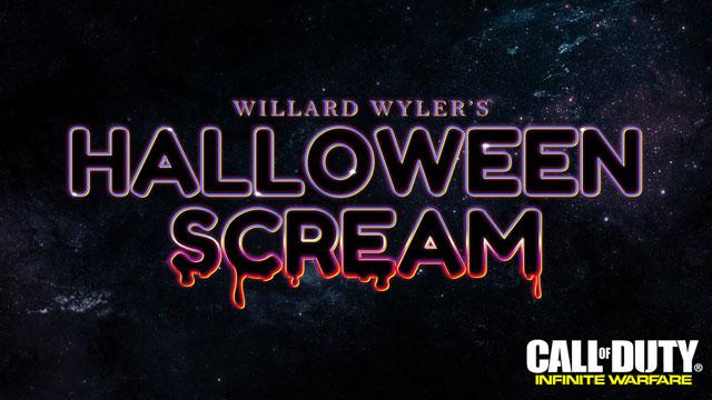 "Call of Duty Infinite Warfare Starts ""Willard Wyler's Halloween Scream"""
