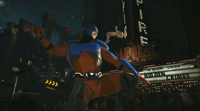 Injustice 2 Atom DLC Character Revealed in Gameplay Trailer