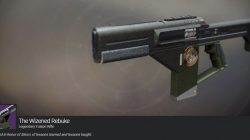 Iron Banner Wizened Rebuke Destiny 2 Exotic Fusion Rifle