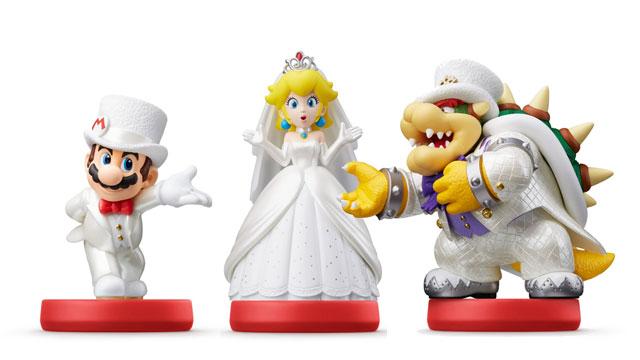 Super Mario Odyssey Amiibo Bonuses Unlockable In-Game