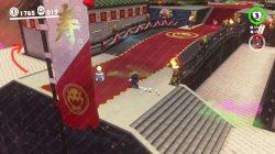 bowser's kingdom warp painting location