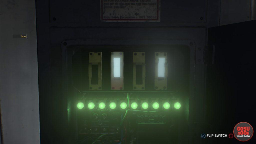 evil within 2 auto repair shop circuit code b34 door