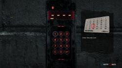 evil within 2 door b-34 keypad combination