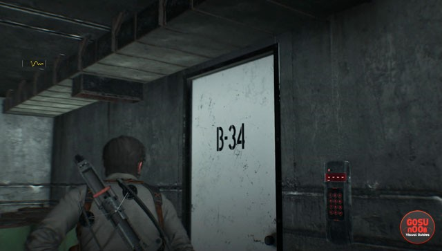 evil within 2 open b 34 door with union security card auto repair shop. Black Bedroom Furniture Sets. Home Design Ideas