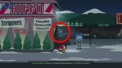 how to enter strip club south park fractured but whole