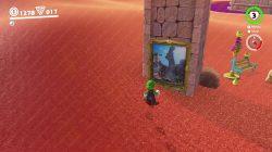 sand kingdom warp painting