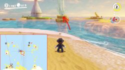 seaside kingdom warp painting location